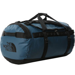 THE NORTH FACE BASE CAMP DUFFEL L MONTEREY BLUE/TNF BLACK 21
