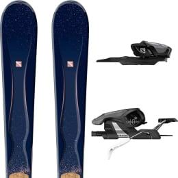 Pack ski+fix SALOMON SALOMON GEMMA + E LITIUM 10 18 - Ekosport