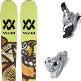 Pack ski alpin VOLKL VOLKL REVOLT 87 21 + MARKER 11.0 TCX WHITE 20 - Ekosport
