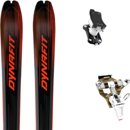 DYNAFIT BLACKLIGHT 80 BLACK/ORANGE 21 + DYNAFIT SPEED TURN 2.0 BRONZE/BLACK 21