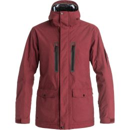 QUIKSILVER DARK AND STORMY JKT POMEGRANATE 17