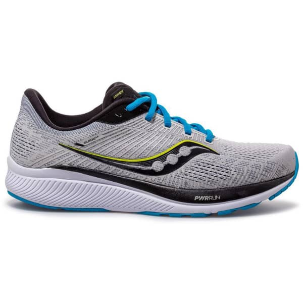 SAUCONY Chaussure running Guide 14 Alloy/cobalt Homme Gris taille 8.5