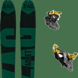 Matériel ZAG ZAG ADRET 81 20 + DYNAFIT TLT SPEEDFIT 10 ALU YELLOW/BLACK 21 - Ekosport