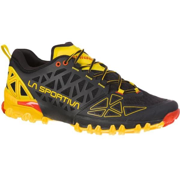 LA SPORTIVA Chaussure trail Bushido Ii Black/yellow Homme Noir/Jaune/Orange taille 40