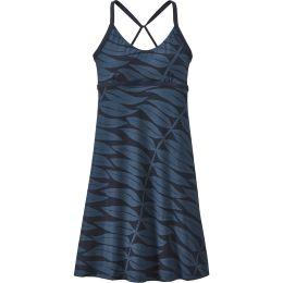 PATAGONIA W'S SUNDOWN SALLY DRESS EUCALYPTUS FRONDS:NEW NAVY 20