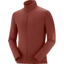 SALOMON OUTRACK FULL ZIP MID M MADDER BROWN 21