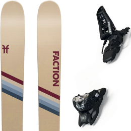 FACTION CANDIDE 4.0 20 + MARKER SQUIRE 11 ID BLACK 21