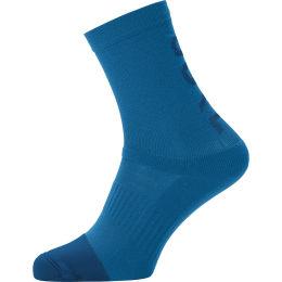 GORE M MID BRAND SOCKS SPHERE BLUE 21