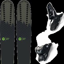 Pack ski alpin ROSSIGNOL ROSSIGNOL SKY 7 HD 20 + MARKER SQUIRE 11 ID BLACK 21 - Ekosport