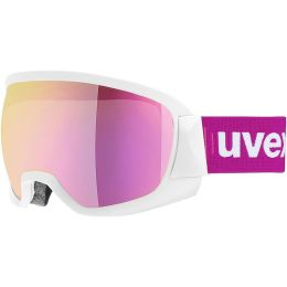 UVEX CONTEST FM WHITE MAT MIRROR PINK CLEAR 19