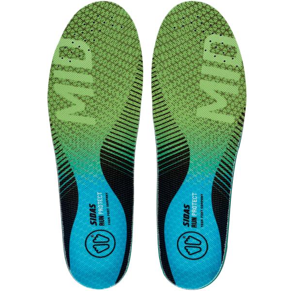 SIDAS Semelle chaussure 3feet Run Protec Mid Bleu/Vert XS