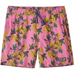 PATAGONIA M'S STRETCH WAVEFARER VOLLEY SHORTS 16 IN. SQUASH BLOSSOM:MARBLE PINK 21
