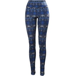 HELLY HANSEN HH MERINO MID GRAPHIC PANT W NAVY/FROST 19