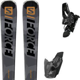 SALOMON S/FORCE 9 + E Z10 GW GREY/BLACK L80 20