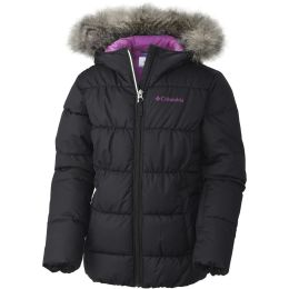 COLUMBIA GYROSLOPE JKT JR BLACK, CROWN JEWEL 18