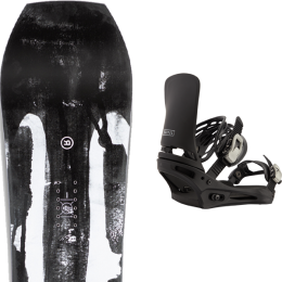 RIDE TWINPIG 21 + BURTON CARTEL BLACK 21