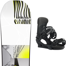 SALOMON THE VILLAIN 20 + BURTON MALAVITA BRACKISH 21