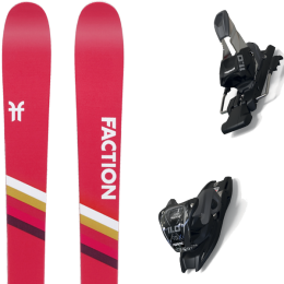 FACTION CANDIDE 1.0 20 + MARKER 11.0 TCX BLACK/ANTHRACITE 20