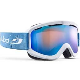 Protection du skieur JULBO JULBO JUNE BLANC CAT3 ORANGE BLEU 22 - Ekosport
