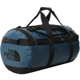THE NORTH FACE BASE CAMP DUFFEL M MONTEREY BLUE/TNF BLACK 21