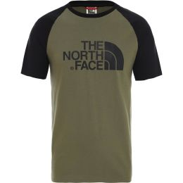 THE NORTH FACE SS RAGLAN EASY TEE BURNT OLIVE 20