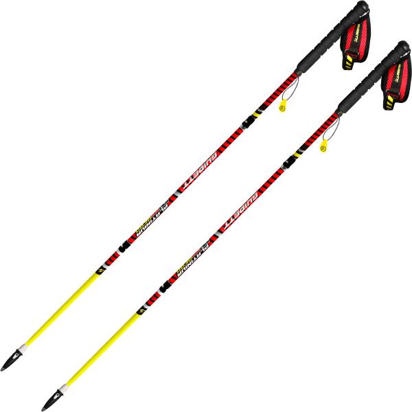 GUIDETTI Bâton de trail Platinium Aero Performance Jaune/Rouge 120