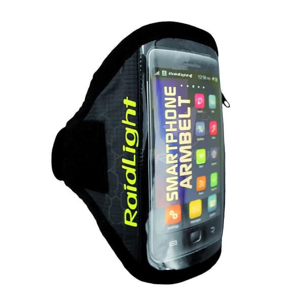RAIDLIGHT Brassard running Smartphone Armbelt Xl Black/green Noir/Vert Unique