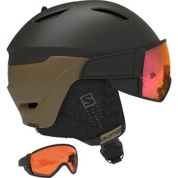 SALOMON DRIVER BLACK BRONZE/SOLAR RED 21