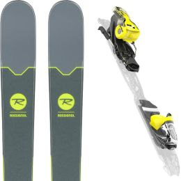 ROSSIGNOL SMASH 7 + XPRESS 10 B93 BLACK YELLOW 19
