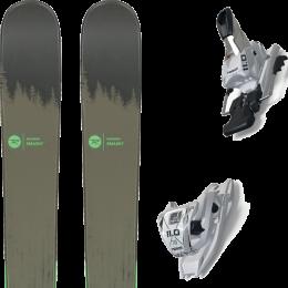 Pack ski alpin ROSSIGNOL ROSSIGNOL SMASH 7 20 + MARKER 11.0 TCX WHITE 20 - Ekosport