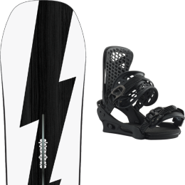 BURTON CUSTOM NO COLOR 21 + BURTON GENESIS MATTY BLACK 20