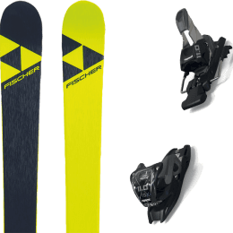 Pack ski alpin FISCHER FISCHER NIGHTSTICK 21 + MARKER 11.0 TCX BLACK/ANTHRACITE 21 - Ekosport