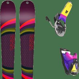 Pack ski alpin K2 K2 MISSCONDUCT + LOOK PIVOT 14 GW B95 FORZA 2.0 - Ekosport