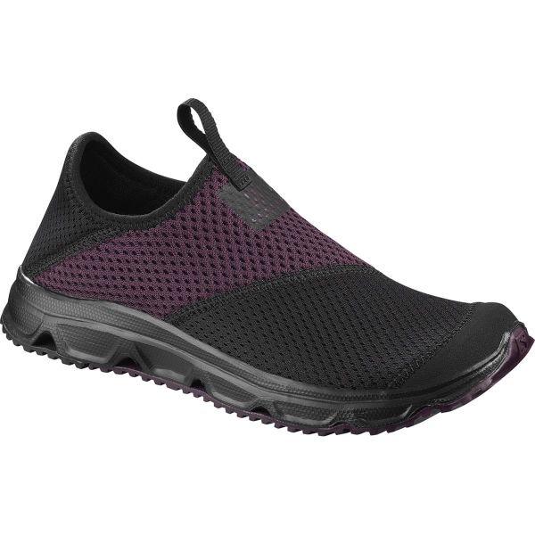 SALOMON Sandale de récupération Rx Moc 4.0 W Black/bk/potent Pur Femme Noir/Violet taille 6.5