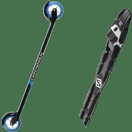 Ski roue NORDEEX NORDEEX SNOW FEELING CLASSIC 700 SPEED 20 + SALOMON PROLINK PRO CLASSIC 22 - Ekosport