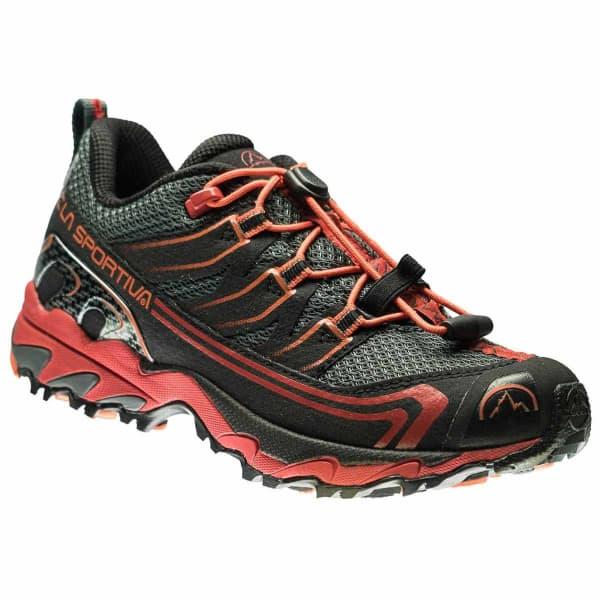 LA SPORTIVA Chaussure trail Falkon Low Kids Carbon/flame Enfant Gris/Noir/Rouge taille 33