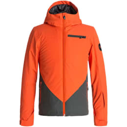 Vêtement hiver QUIKSILVER QUIKSILVER SUIT UP YOUTHJKT BOY MANDARIN RED 18 - Ekosport