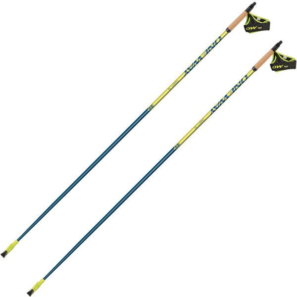 ONE WAY Bâton de marche nordique Oneway Team16 Jaune/Bleu 105