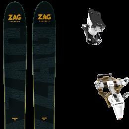 ZAG BAKAN 21 + DYNAFIT SPEED TURN 2.0 BRONZE/BLACK 21