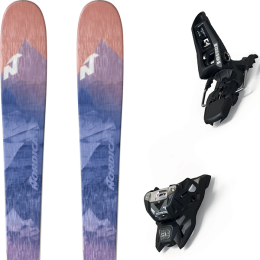 NORDICA ASTRAL 84 BLUE/DARK 20 + MARKER SQUIRE 11 ID BLACK 21