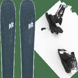 Boutique K2 K2 MINDBENDER 98 TI ALLIANCE 20 + LOOK SPX 12 GW B90 BLACK 22 - Ekosport