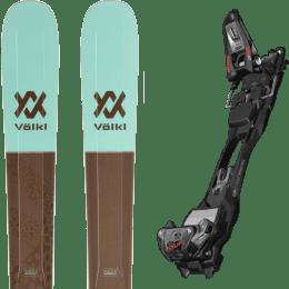 Pack ski alpin VOLKL VOLKL SECRET 102 20 + MARKER F12 TOUR EPF BLACK/ANTHRACITE 22 - Ekosport
