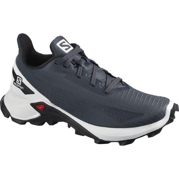 SALOMON Chaussure trail Alphacross Blast J India Ink/wh/bk Enfant Bleu taille 33