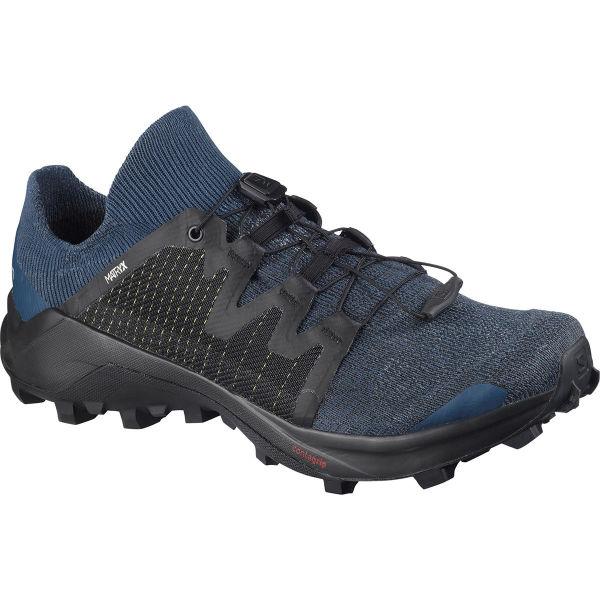 SALOMON Chaussure trail Cross W /pro Abisso/sargasso S/bk Femme Bleu/Noir taille 3.5