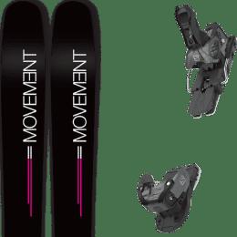 Boutique MOVEMENT MOVEMENT GO 100 WOMEN 19 + SALOMON WARDEN MNC 13 N BLACK/GREY 20 - Ekosport