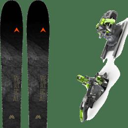 Ski randonnée DYNASTAR DYNASTAR M-VERTICAL 88 21 + G3 ZED 12 21 - Ekosport