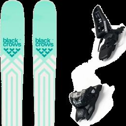 BLACK CROWS ATRIS BIRDIE 21 + MARKER SQUIRE 11 ID BLACK 21
