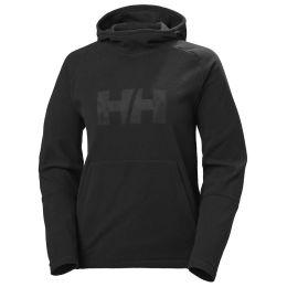 HELLY HANSEN W DAYBREAKER LOGO HOODIE BLACK 21