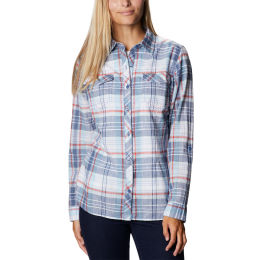 COLUMBIA CAMP HENRY™ II LS SHIRT FADED SKY PLAID 21