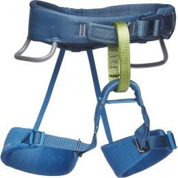 BLACK DIAMOND MOMENTUM HARNESS KIDS' KINGFISCHER 21